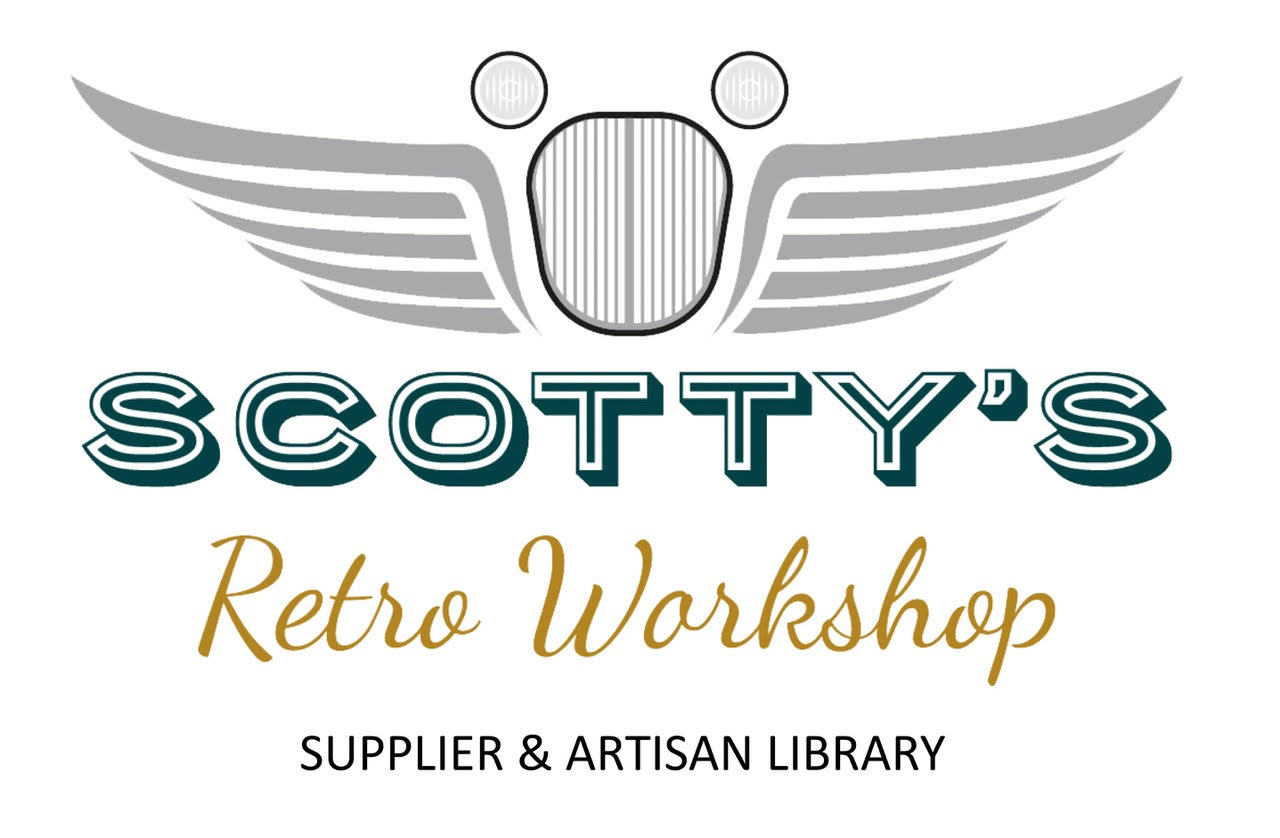 Scotty's Retro Workshop Supplier and Artisan Library