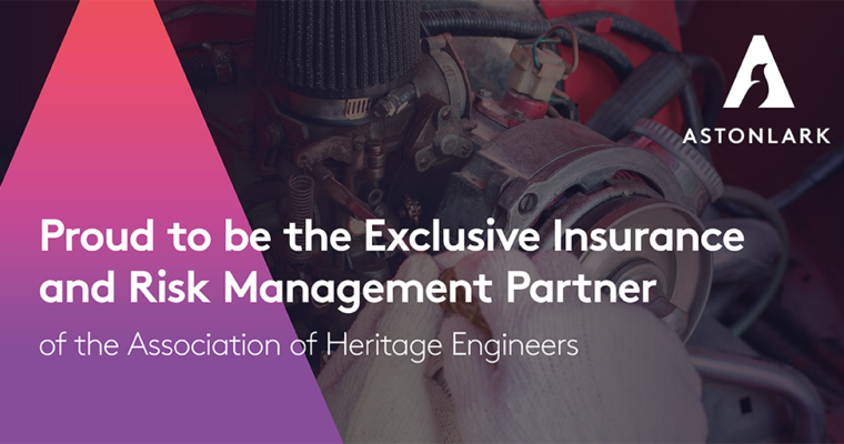 Aston Lark join the AoHE as our exclusive Insurance and Risk management Partners